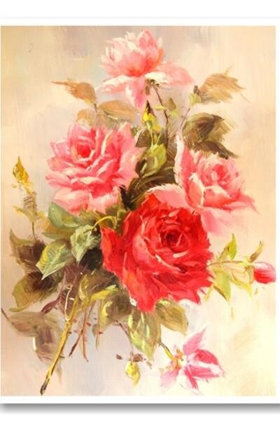 Триптих Красота роз  (арт. VPT014)
