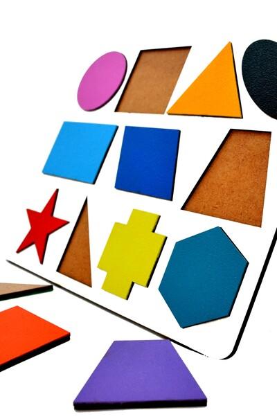 Играем и обучаемся. Основы геометрии для детей