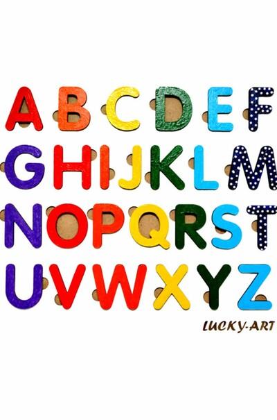 """Рамка-вкладыш """"Английский алфавит"""" для детей"""