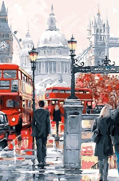 Чарівність Лондона худ. МакНейл Річард  (арт. VP441)