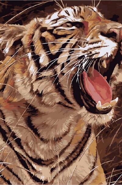 Рычащий тигр  (арт. MR-Q1974)
