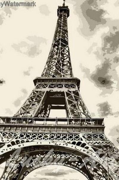 Ейфелева вежа  (арт. MR-Q736)