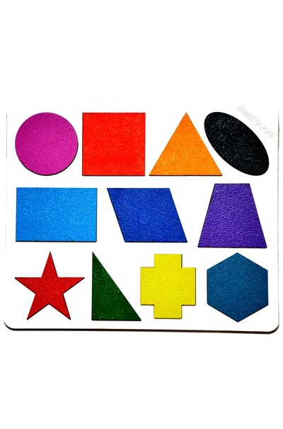 Геометрические фигуры для обучения детей