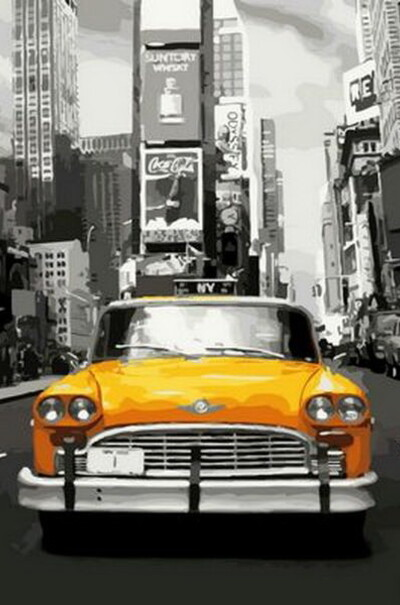 Нью-Йоркське таксі  (арт. MR-Q1249)