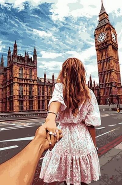 Следуй за мной Лондон худ. Мурад Османн  (арт. VP706)