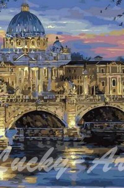 Сумерки над Римом худ. Финале Роберт  (арт. MR-Q1127)
