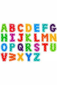 Англійський алфавіт, 26шт