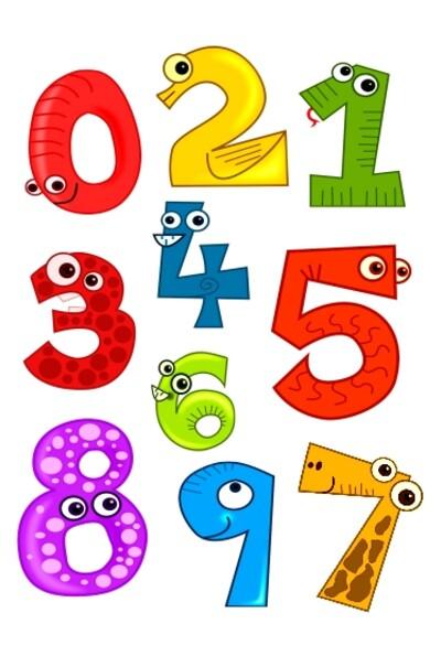 """Набор """"Веселые цифры"""" для детей"""