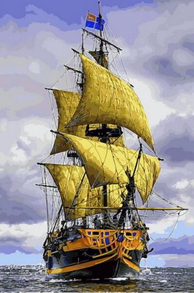 Пиратский корабль  (арт. VP888)