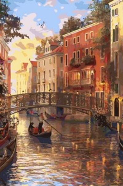 Захід сонця в Венеції, худ. Домінік Девісон  (арт. MR-Q2115)