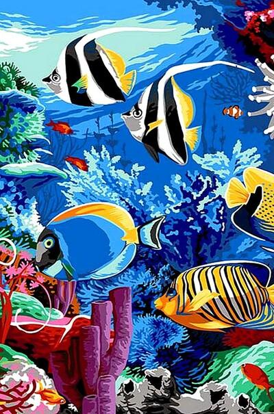 Кораловий риф  (арт. VK190)