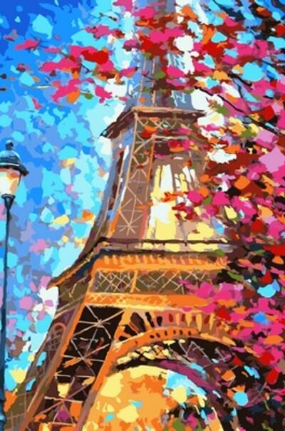 Фарби весняного Парижа  (арт. NB612)