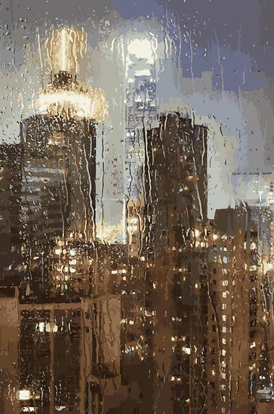Ночной дождь  (арт. VP952)