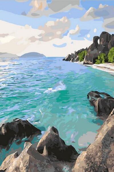 Карибський берег  (арт. MR-Q1897)
