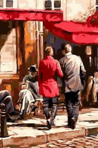 Итальянский полдень худ. Ричард Макнейл  (арт. MR-Q635)