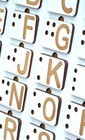 Английская азбука Брайля  (арт. ДС-АБ)