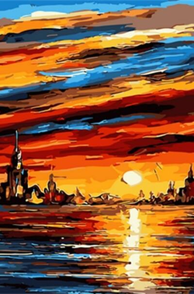 Чарівний захід худ. Афремов Леонід  (арт. MR-Q1689)