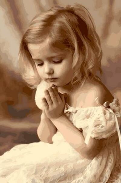 Молитва ребенка  (арт. MR-Q2107)