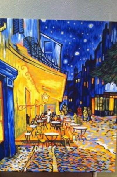 Нічна тераса кафе худ. Ван Гог Вінсент  (арт. VP504)