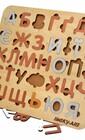 Абетка-сортер з дерева для дітей молодшого віку