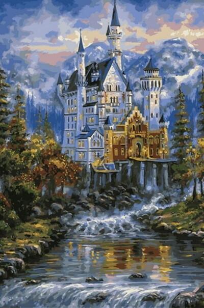 Замок Нойшванштайн худ. Финале, Роберт  (арт. MR-Q2100)