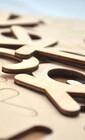 Английские деревянные буквы