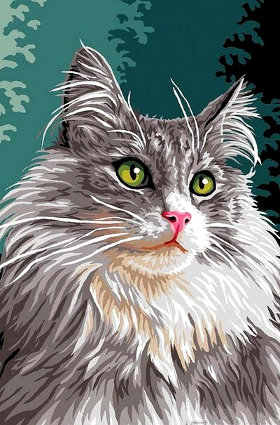 Сибірська кішка  (арт. VK177)