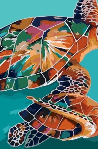Радужные черепахи  (арт. KH2455)