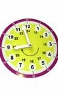 Часы-тренажер для детей (желтый цвет)