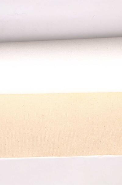 Рулонный холст из хлопка. Грунтованный