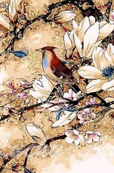 Корольок пташка співуча худ. Чжин Хонгджун  (арт. MR-Q418)