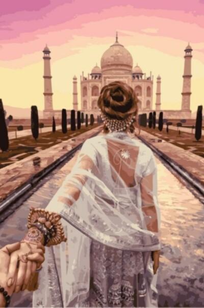 Слідуй за мною. Агра, Індія. Худ. Мурад Османн  (арт. VP716)