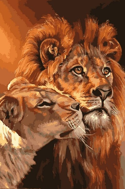 Царственная пара  (арт. NB033)