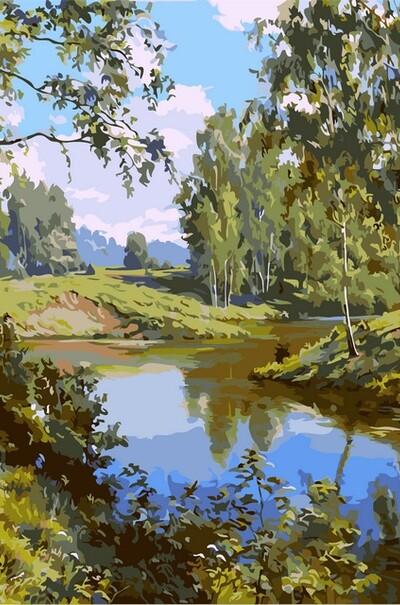 Тиха ріка  (арт. VP401)