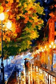 Прогулянка вечірніми вуличками