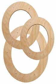 Подрамники овальной формы в наборе (без холста)