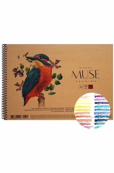Скетчбук для графики MUSE Drawing А4