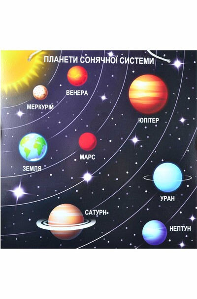 """Навчальна таблиця """"Планети Сонячної системи"""""""