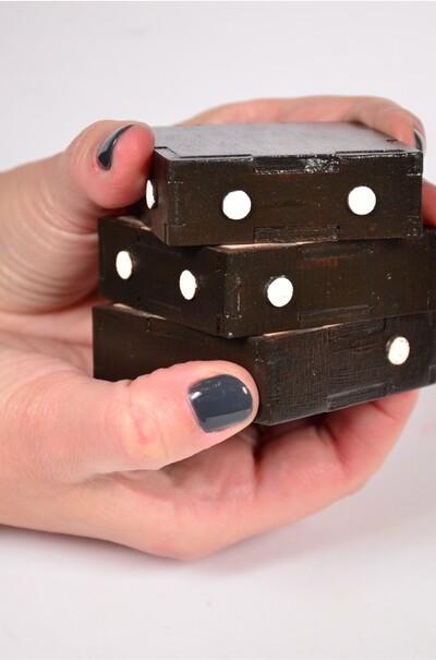 Тренажер-кубик шестикрапковий