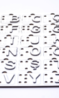 Азбука Брайля  турецькою мовою