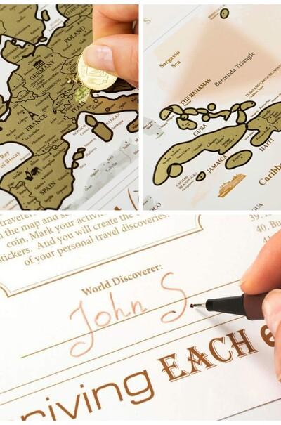 Отличная полиграфия для туристов (карта мира)