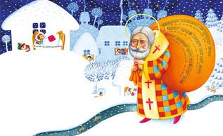 По Украине из края в край ходит Святой Николай